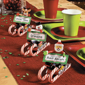 Candy Sled Place Cards Crafter 39 S Holiday Cottagecrafter